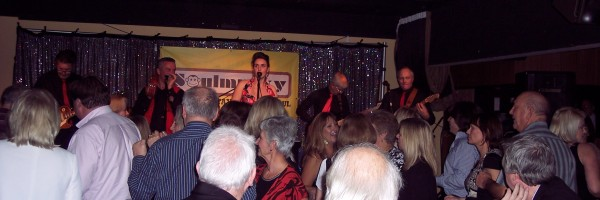 60's band night at the Concorde Club, Eastleigh Hampshire